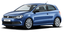 Blauwe auto, lesauto Rijschool Boomsluiter